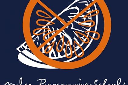 紺四角ロゴ
