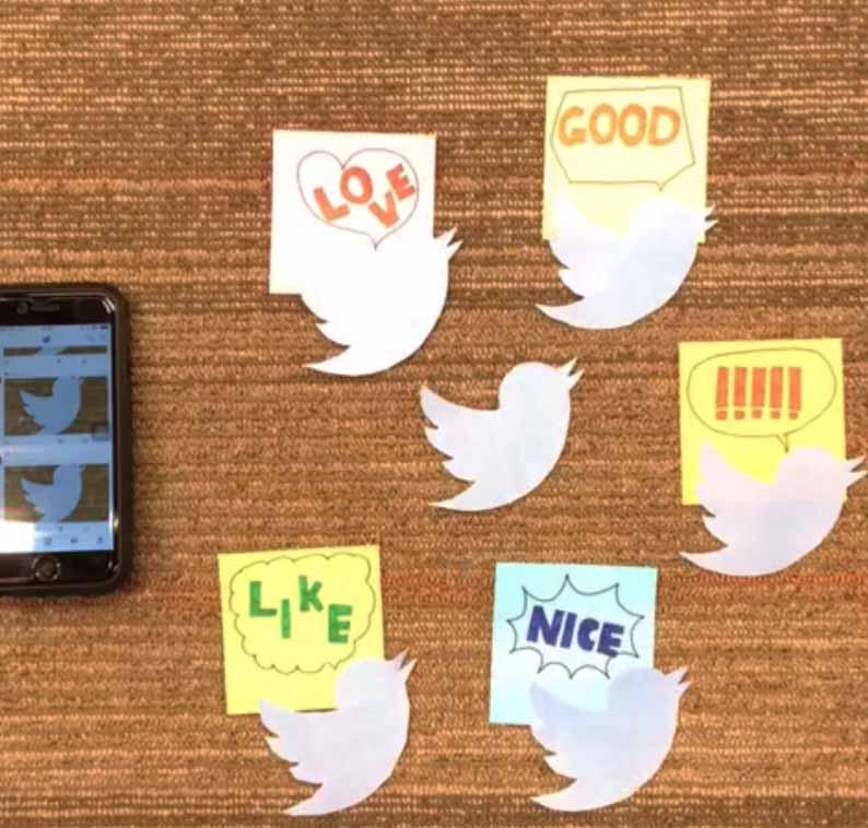ひとつのツイートがポジティブな反応を乗せて、さらに広く拡散
