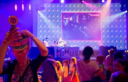 """""""Radio Minus Sound System"""" La boum des enfants de Gangpol&Mit le 29 juin à la Gaité Lyrique, Paris"""