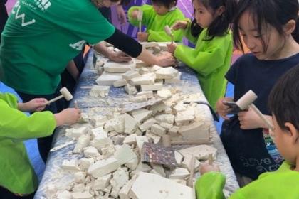 化石発掘1