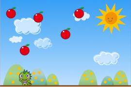 リンゴキャッチゲーム