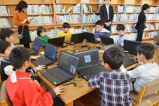 熊本県益城町広安小学校   YouthSpark プログラミング学習プロジェクト